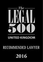 Uk recommended lawyer 2016